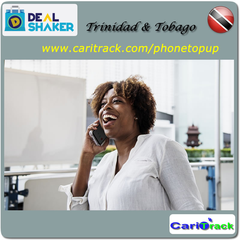 TTD 500 Phone TopUp - Caribbean Tracking and Technology